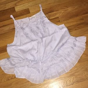 Anthropologie rayon cotton lined swing camisole